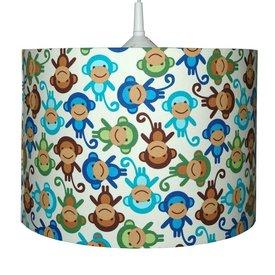 Waldi-Leuchten Kinderlamp aapjes