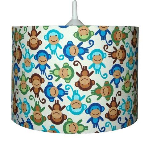 Kinderlamp aapjes