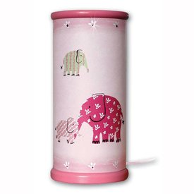 Waldi-Leuchten Designers Guild tafellamp olifant pink