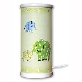 Waldi-Leuchten Designers Guild tafellamp olifant groen