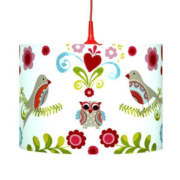 Waldi-Leuchten Kinderlamp paradijsvogel