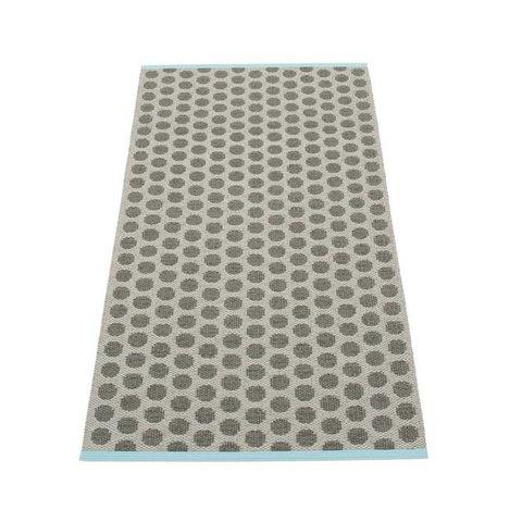 Pappelina plastic vloerkleed Noa charcoal/warm grey