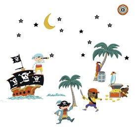 Nouvelles Images Nouvelles Images muurstickers piraten