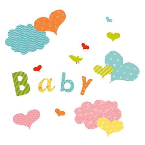 Nouvelles Images muursticker baby