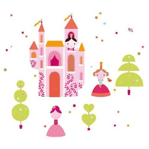 Nouvelles Images muursticker prinsesjes