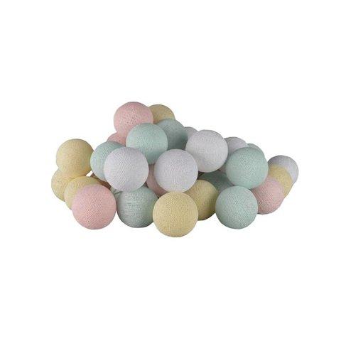 Cotton ball lights lichtslinger pastel USB