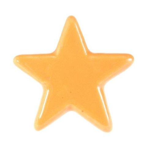 La Finesse kastknopje ster oranje