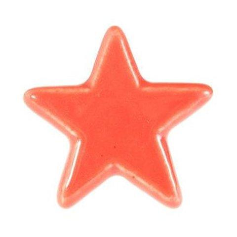 La Finesse kastknopje ster rood