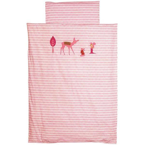 Taftan Taftan beddengoed bambi roze