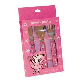 Petit Jour Paris Petit Jour kinderbestekje muis roze