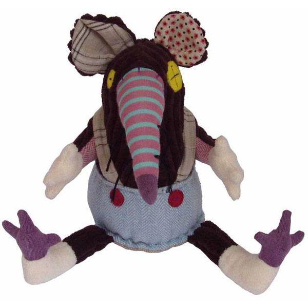 Les Déglingos Deglingos knuffel Ratos de rat