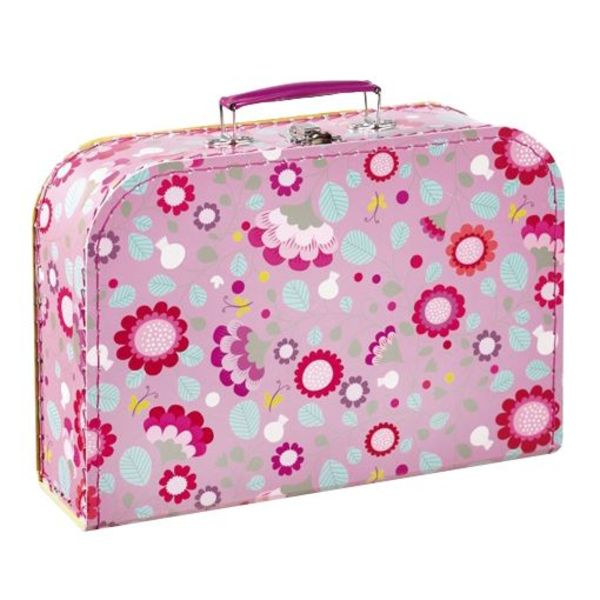 mini labo Mini labo koffertje bloemen roze