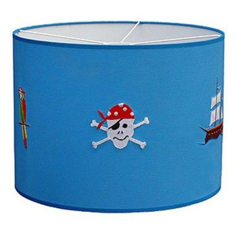 Taftan kinderlamp piraten
