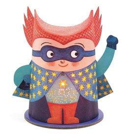 Djeco Djeco nachtlampje mini superheld