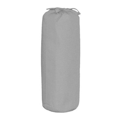Taftan hoeslaken grijs uni 200x90