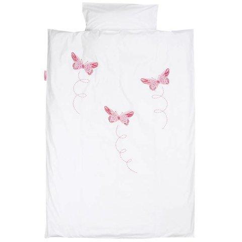 Taftan beddengoed vlinders