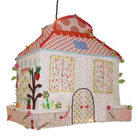 Taj Wood Scherer kinderlamp sprookjeshuis