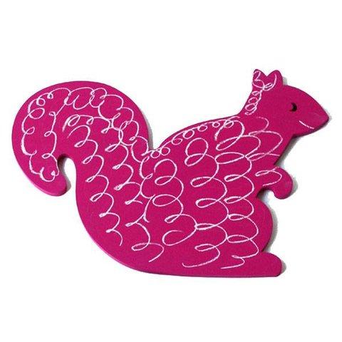 Pakhuis Oost krijtbord eekhoorn roze