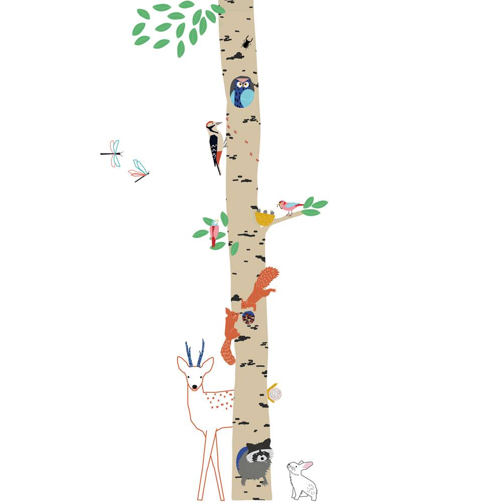 Sticker Boom Kinderkamer.Muursticker Kinderkamer Boom Into The Wood Kidzsupplies