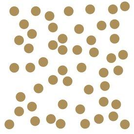 Roommates Roommates muursticker confetti goud