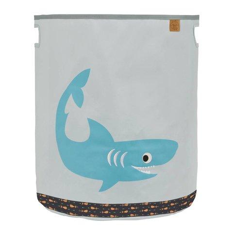 Lässig speelgoedmand haai oceaan