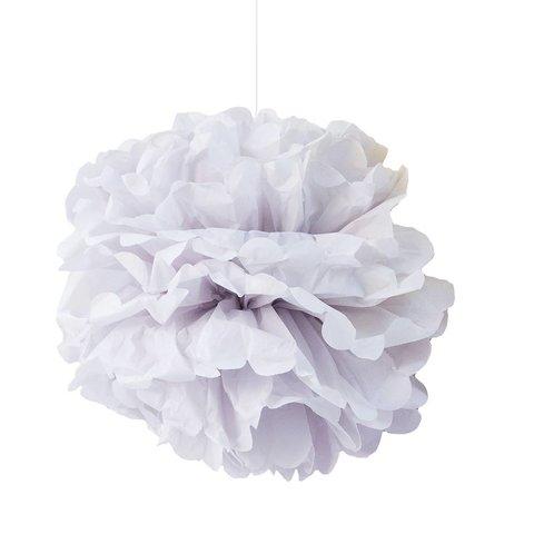 Engelpunt Pom pastel grijs grey/lilac