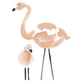 Lilipinso Lilipinso muursticker flamingo XL