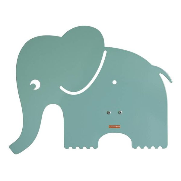 Roommate Roommate wandlamp olifant pastel blauw groen