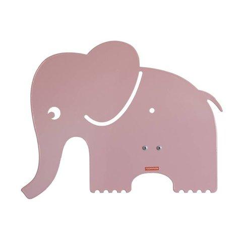 Roommate wandlamp olifant pastel roze