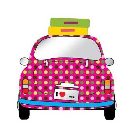 Kidslab spiegel auto meisje