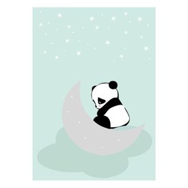 Land of Kids Kinderposter A3 Dreaming Panda