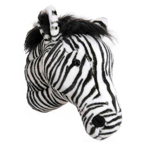Wild & Soft beestenkop zebra