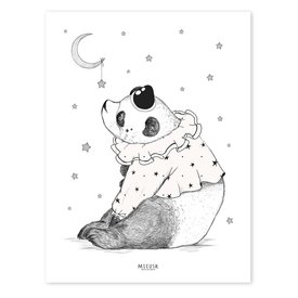 Lilipinso Lilipinso poster panda circus