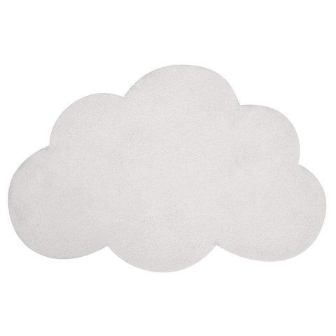 Lilipinso kindervloerkleed wolk wit