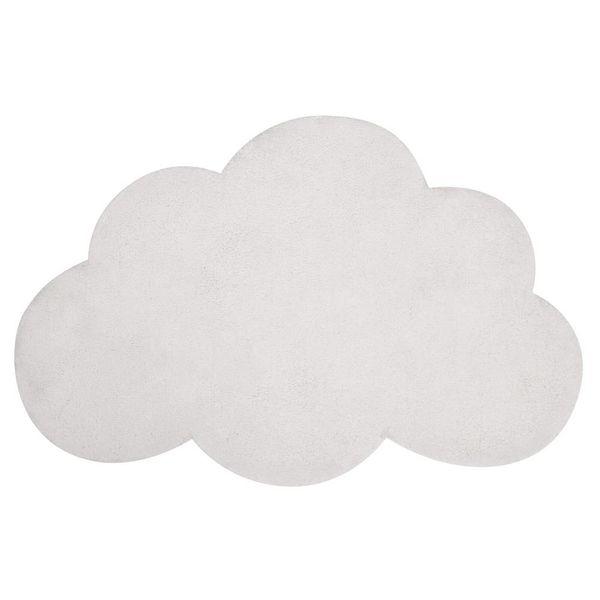 Lilipinso Lilipinso kindervloerkleed wolk wit