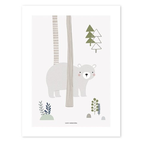 Lilipinso poster woodland beer
