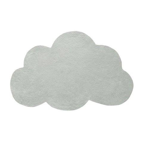 Lilipinso kindervloerkleed wolk grijs groen