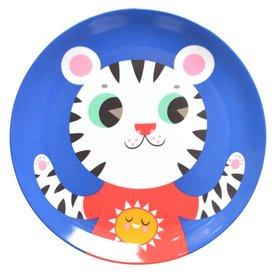 Petit Monkey Petit Monkey melamine bord tijger