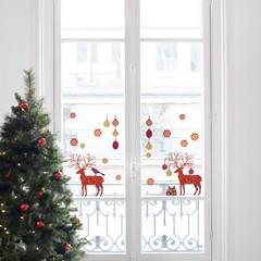 Kerst decoratie en kerst raamstickers voor de baby- en kinderkamer