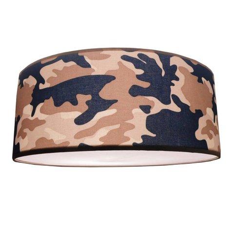 Juul Design plafonniere army blauw