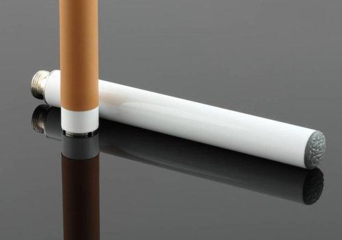 Two-piece e-cigarette
