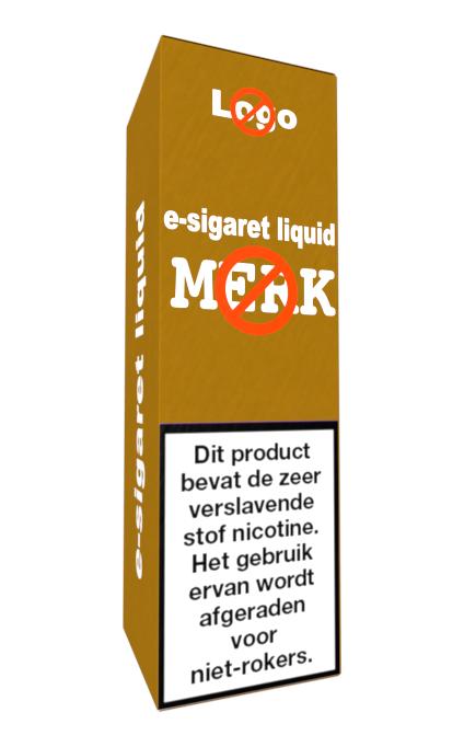 Neutrale verpakking liquid e-sigaret