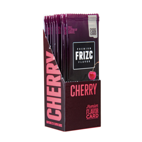 Novus Fumus Frizc Flavour Card Flavour Card Cherry - 25 Stück