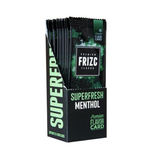 Novus Fumus Frizc Flavor Card Superfresh Menthol - 25 stuks