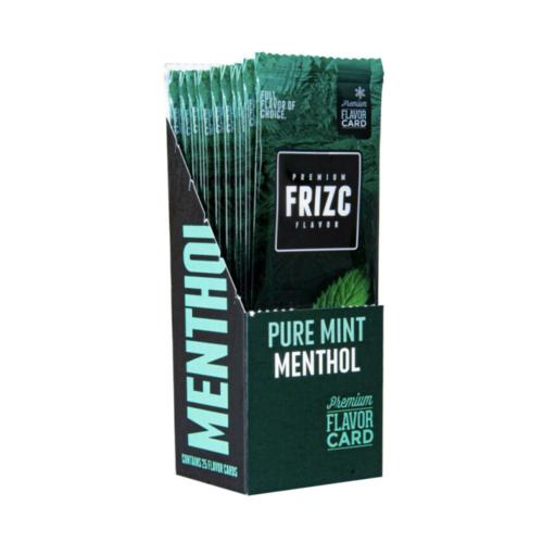 Novus Fumus Frizc Flavor Card Pure Mint Menthol - 25 stuks