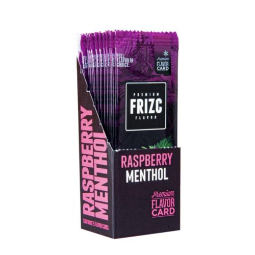 Novus Fumus Frizc Flavor Card Raspberry Menthol - 25 stuks