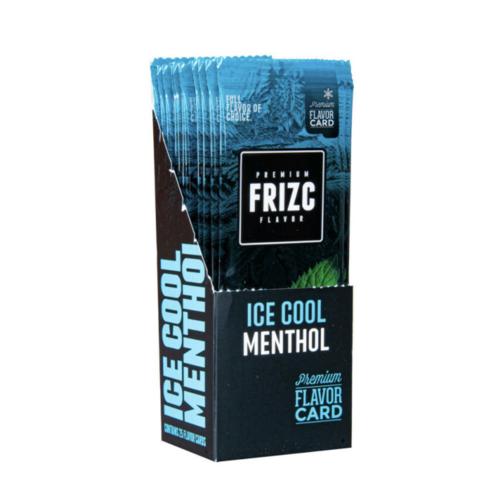 Novus Fumus Frizc Flavour Card Ice Cool Menthol - 25 Stück
