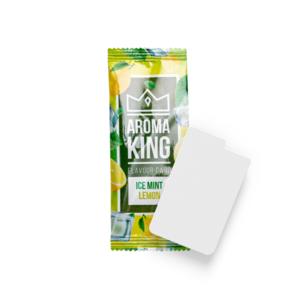 Novus Fumus Aroma King Flavor Card Ice Mint Lemon - 25 pieces