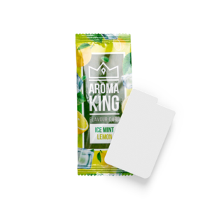 Novus Fumus Aroma King Flavour Card Ice Mint Lemon - 25 Stück