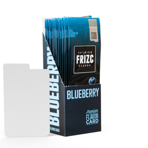 Novus Fumus Blueberry Flavor Card